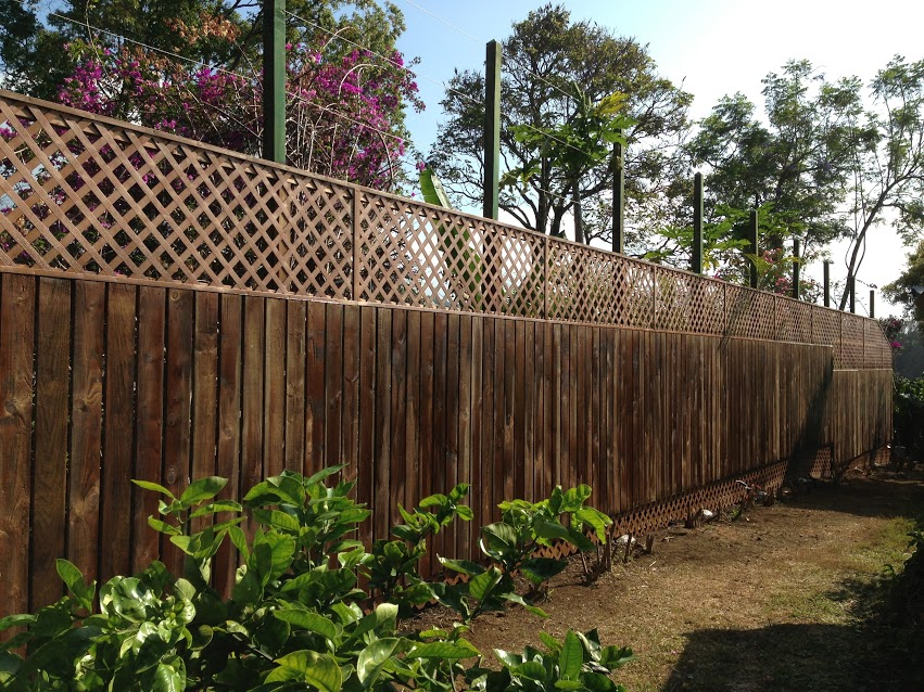 214 foot fence